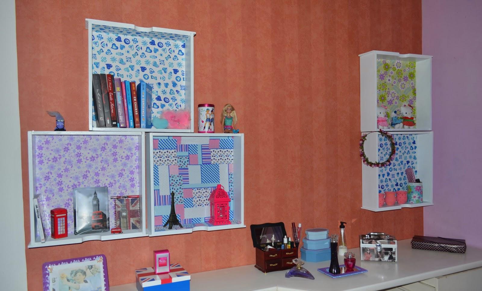 Casa de ideias e decoração: Gavetas recicladas viram prateleiras #8F4737 1600x966