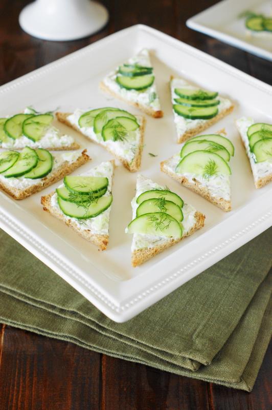 Cucumber Sandwiches III Recipes — Dishmaps