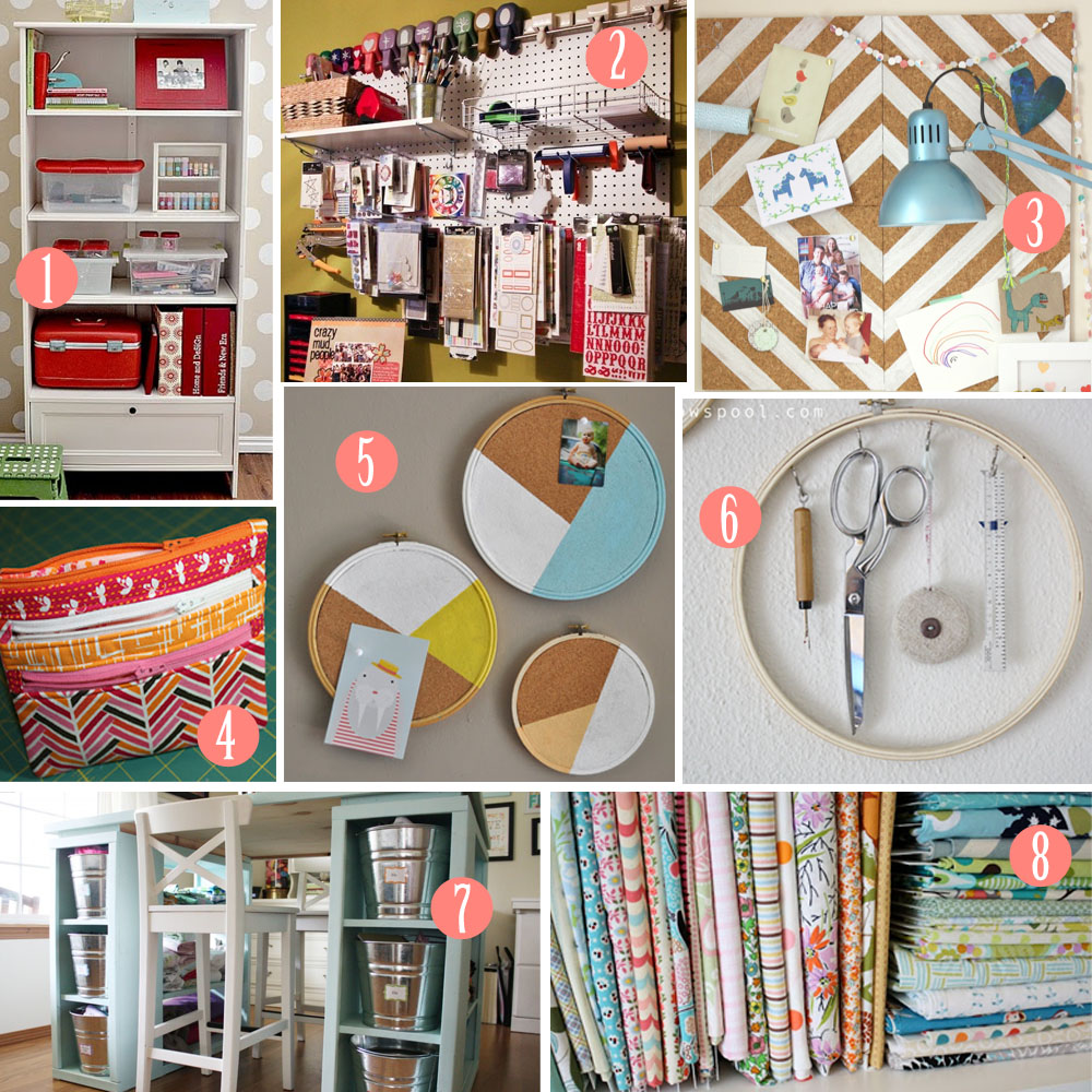 Diy craft room joy studio design gallery best design for Diy organization crafts