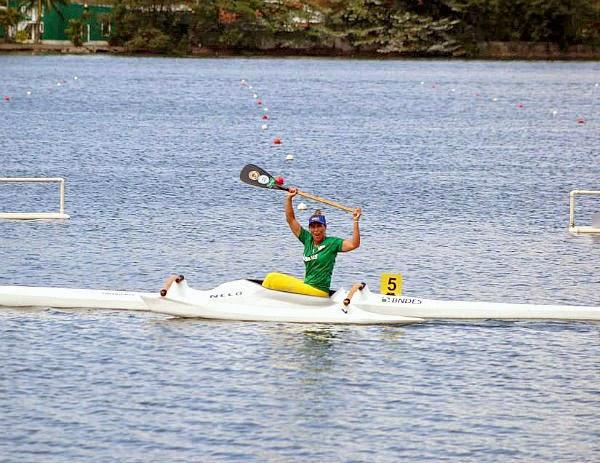 Atleta de Cabo Frio no mundial de canoagem realizado do Rio de Janeiro