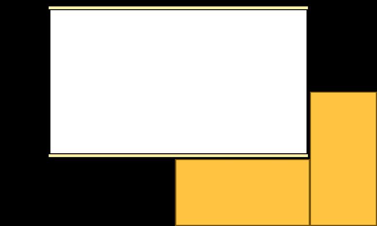 スクリーン(イメージ図) 部屋にものが溢れていても、小さなスクリーンであれば広げることができる
