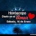 Horóscopo en el Amor, Sábado, 16 de Enero 2016