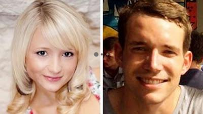 Hannah Witheridge, 23, David Miller, 24.