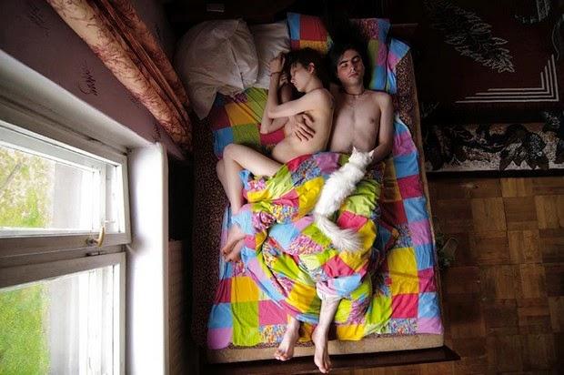 Portraits of Sleeping Couples  2