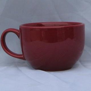 Buy Burgundy Oversized Cappuccino Mug
