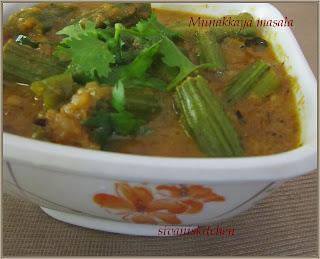 Munakkaya masala curry