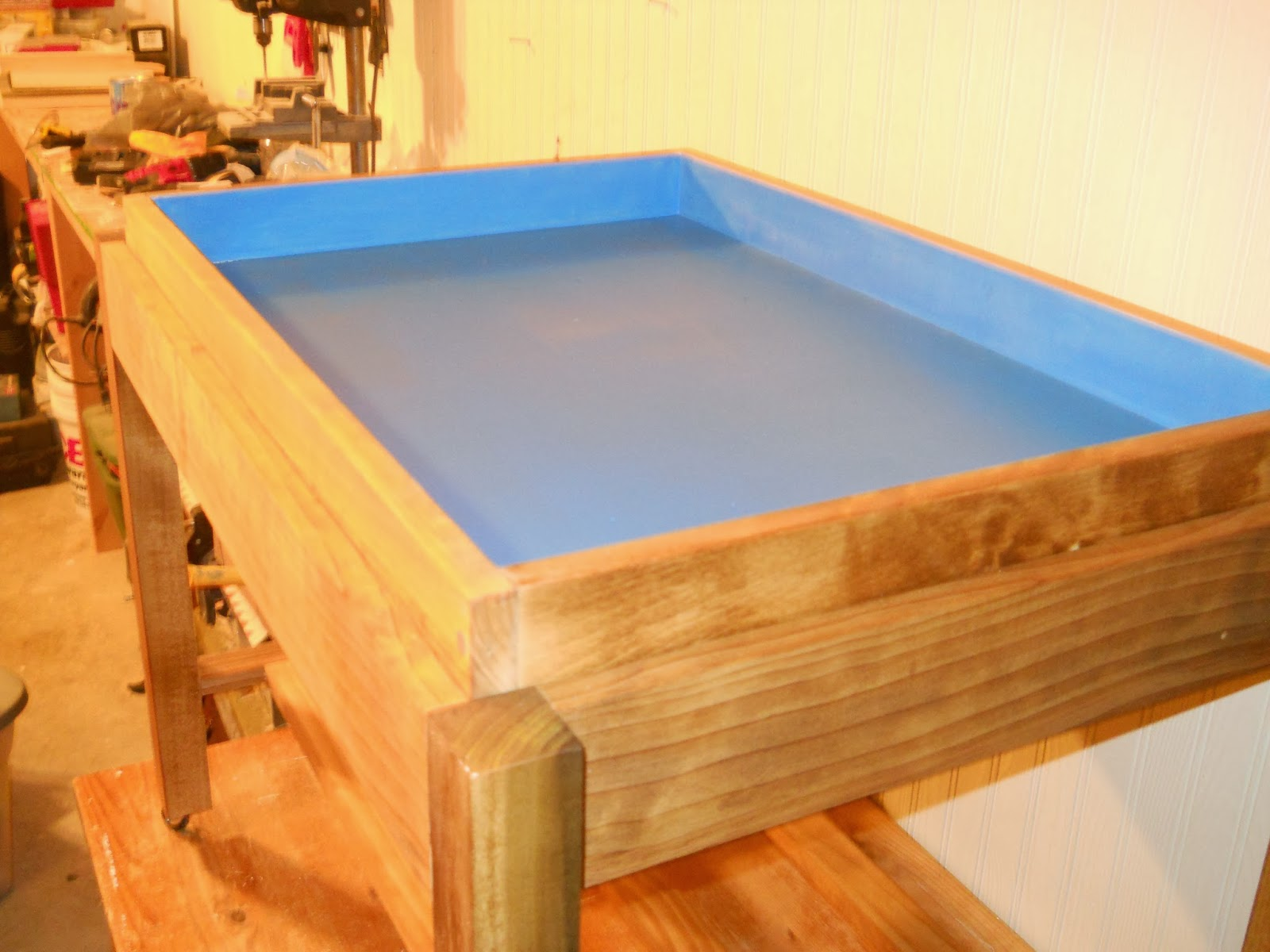 Tim Misiora Woodworking: Children's Sand Therapy Table