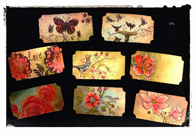 Tim Holtz Sizzlits Decorative Ticket Strip Die