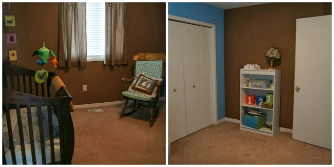 changing baby nursery to big boy room