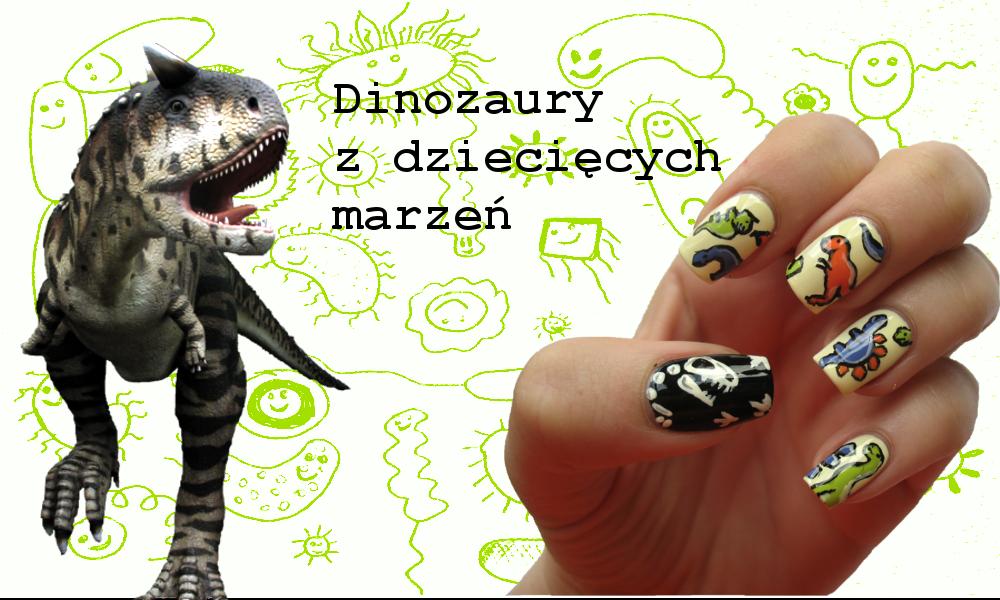 Dinozaury, dzięki którym wygrałam w konkursie