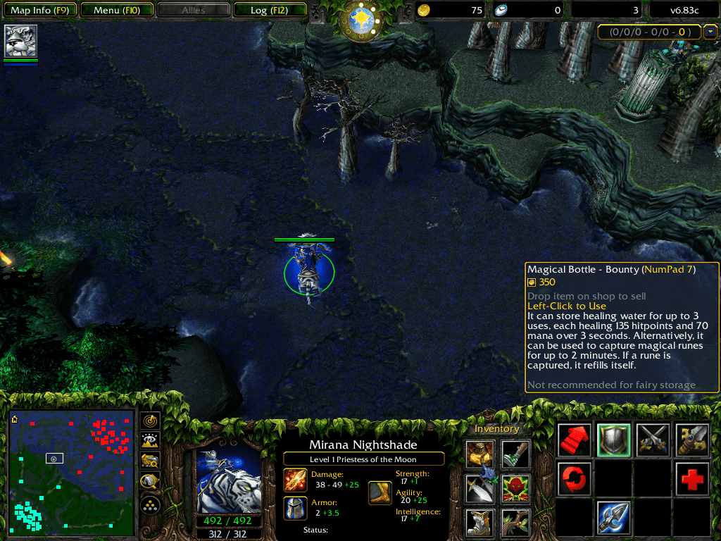 dota 6 83 map download and changelogs dota utilities