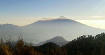 panorama gunung butak