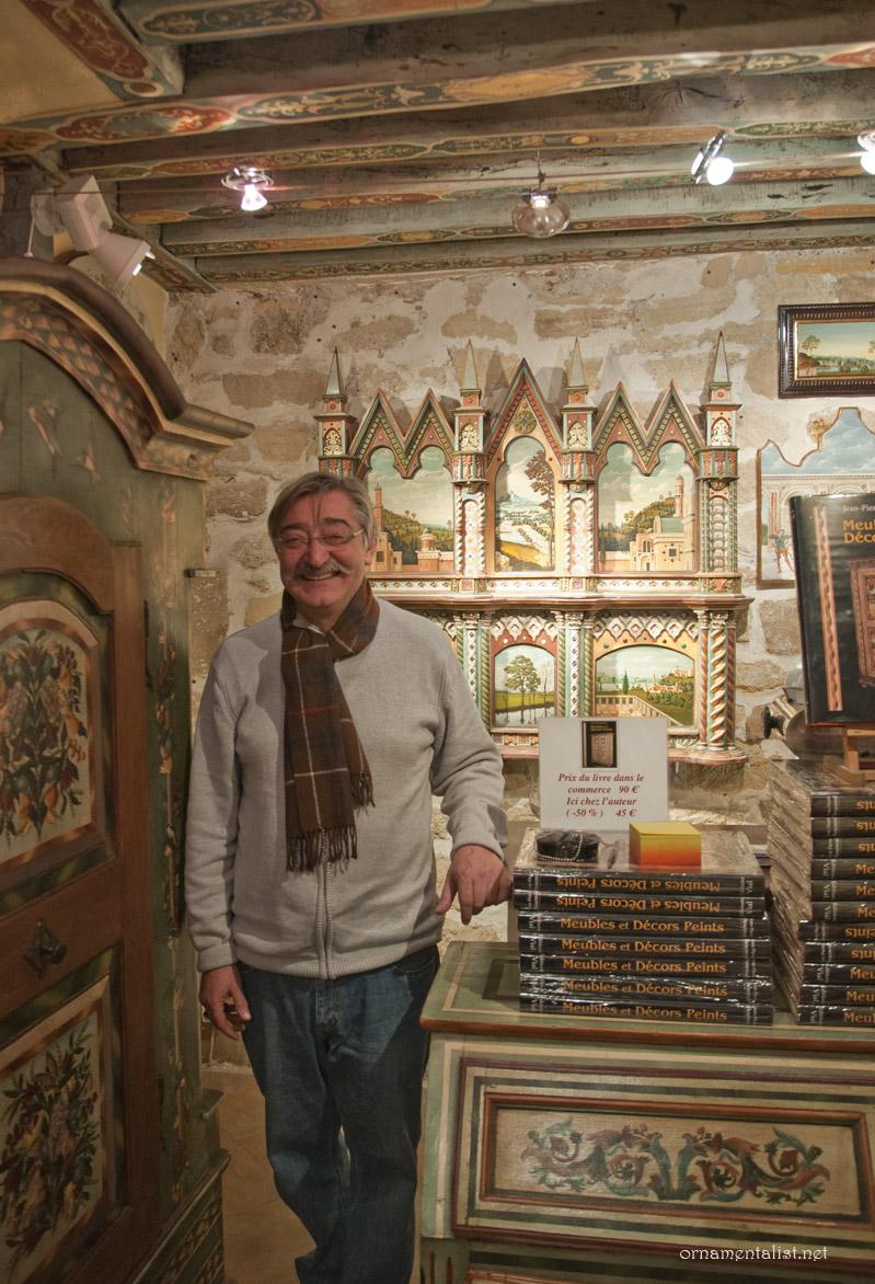 The ornamentalist studio visit atelier peinture sur bois for Peintures sur bois