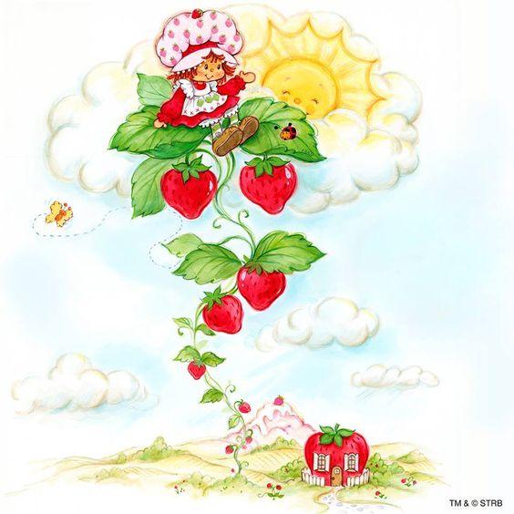Frutillita en las nubes