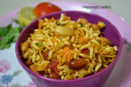 Masala Bhel Recipe/ Spicy Puffed Rice – Easy Snack