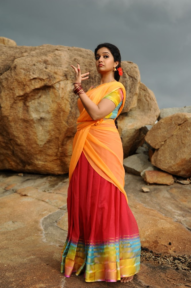 Swathi Latest Stills From Tripura Movie