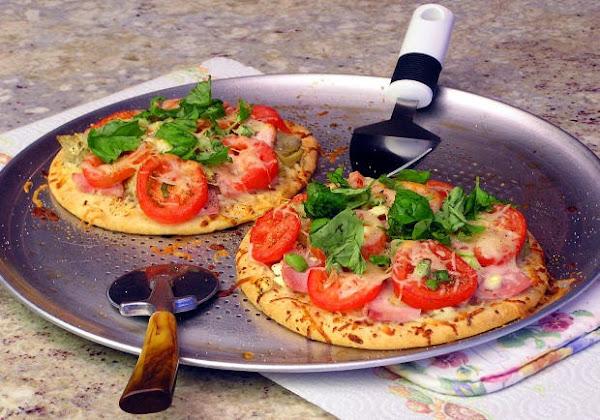Receta para hacer pizza casera facil cocina general for Comidas caseras faciles