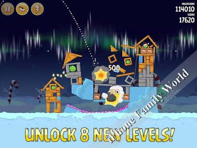 Angry Birds Seasons HD 3.2.1 - iphone family world | iphone family