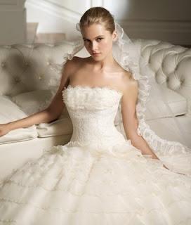 imagens de Vestidos de Noiva com Cauda