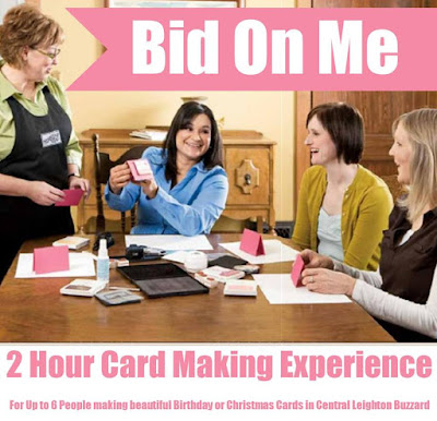 Card Making Experience Event - Bid for this at Charity Auction