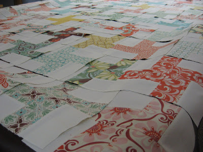 Fandango Cartwheels Quilt ~ Coming Along!