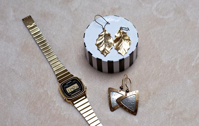 gold jewellery second hand earrings