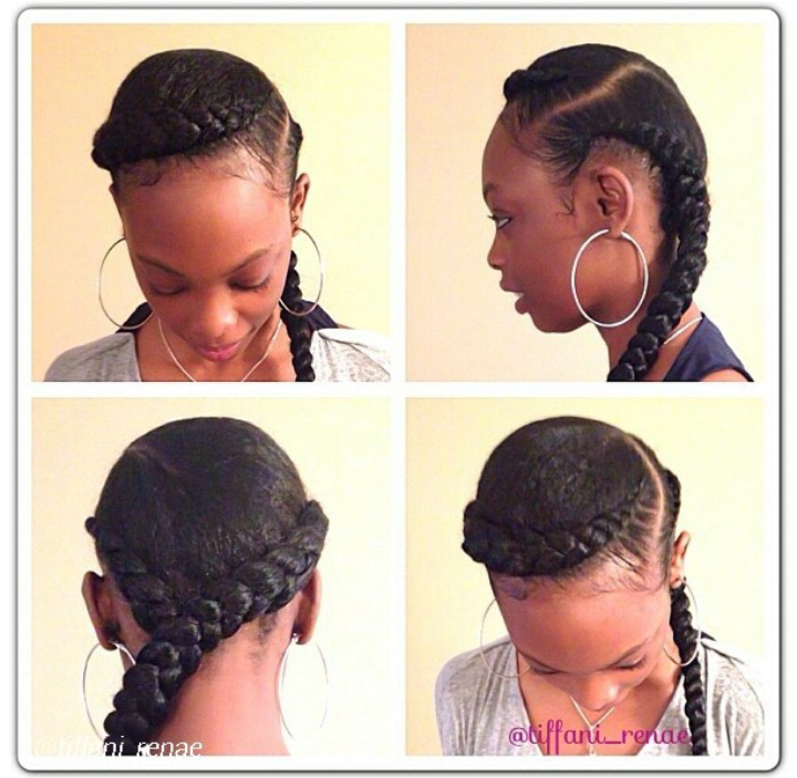 with beautiful natural hairstyle inspirations i got from instagram