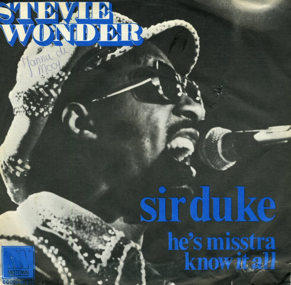 sir duke was written and recorded by stevie wonder in tribute to duke ...