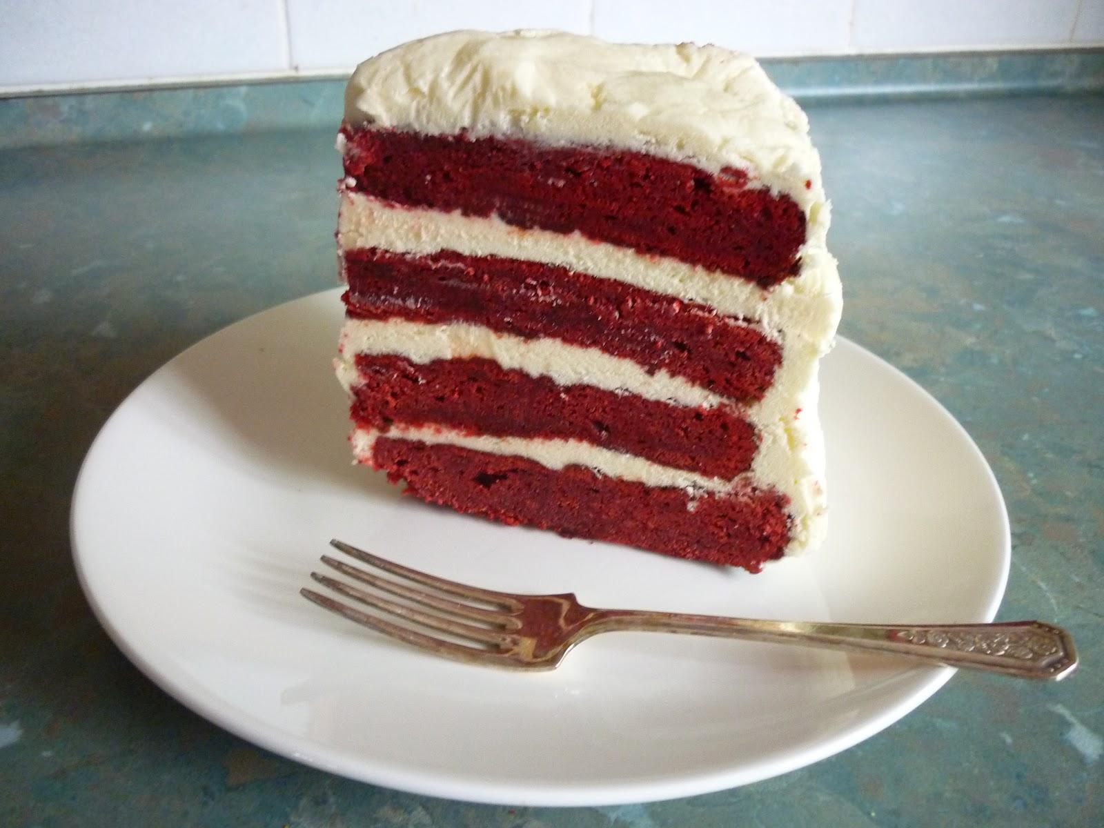Little things . . .: Red Velvet Layer Cake
