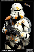 "IN STOCK Sideshow Collectibles 12"" Utapau Airborne Trooper Figure"