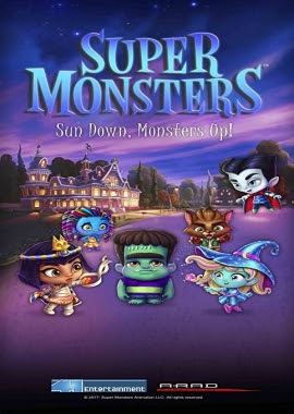 Poster Of Super Monsters 2017 Watch Online Free Download