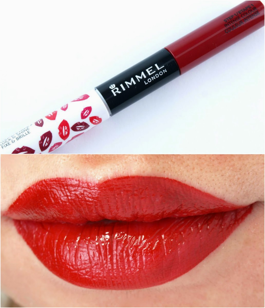 Rimmel Provocalips 16Hr Kiss Proof Lip Color: Review and Swatches Play with Fire