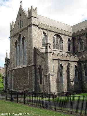 Catedral de St. Patrick de Dublín en Irlanda