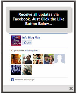 Adding a Facebook Popup Like Box In Blogger  | tonyisright.blogspot.com
