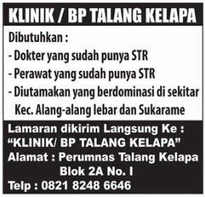 KLINIK / BP TALANG KELAPA