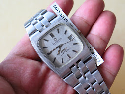 OMEGA CONSTELLATION SILVER DIAL SQUARE CASE PART C - AUTOMATIC