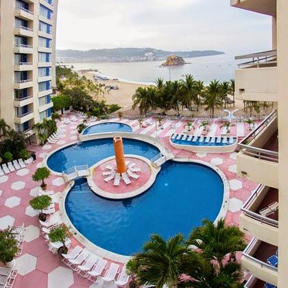 imagen en el hotel Playa Suites Acapulco con alberca