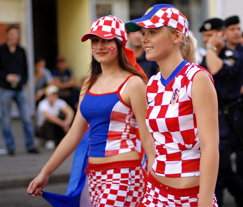 Beautiful Croatian Girls of Euro 2012 | MR.SPORT
