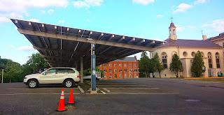 Solar Carport at CUA