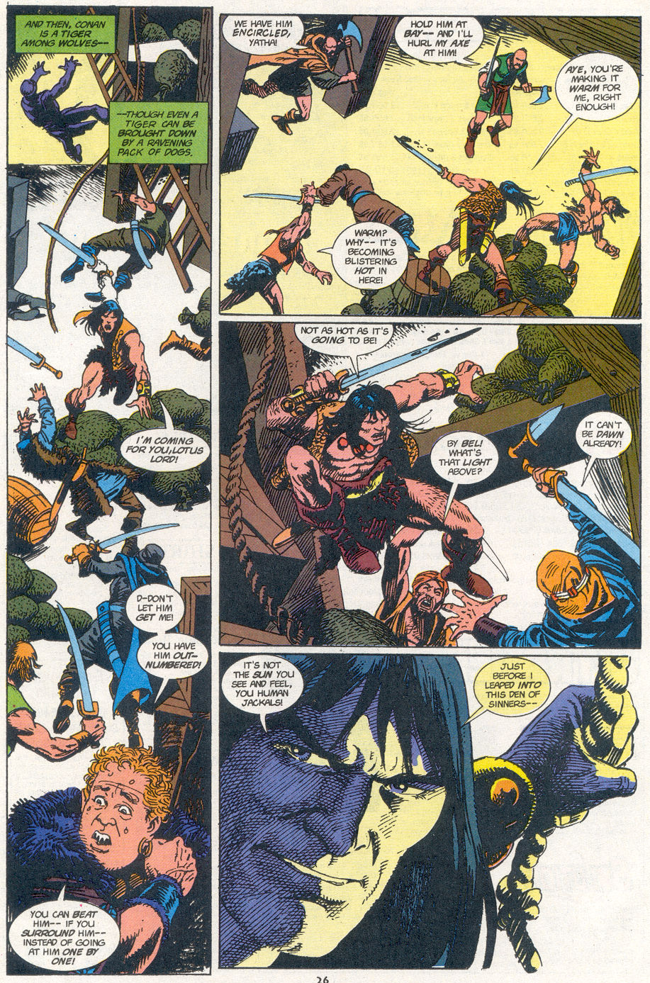 Conan the Barbarian (1970) Issue #273 #285 - English 19