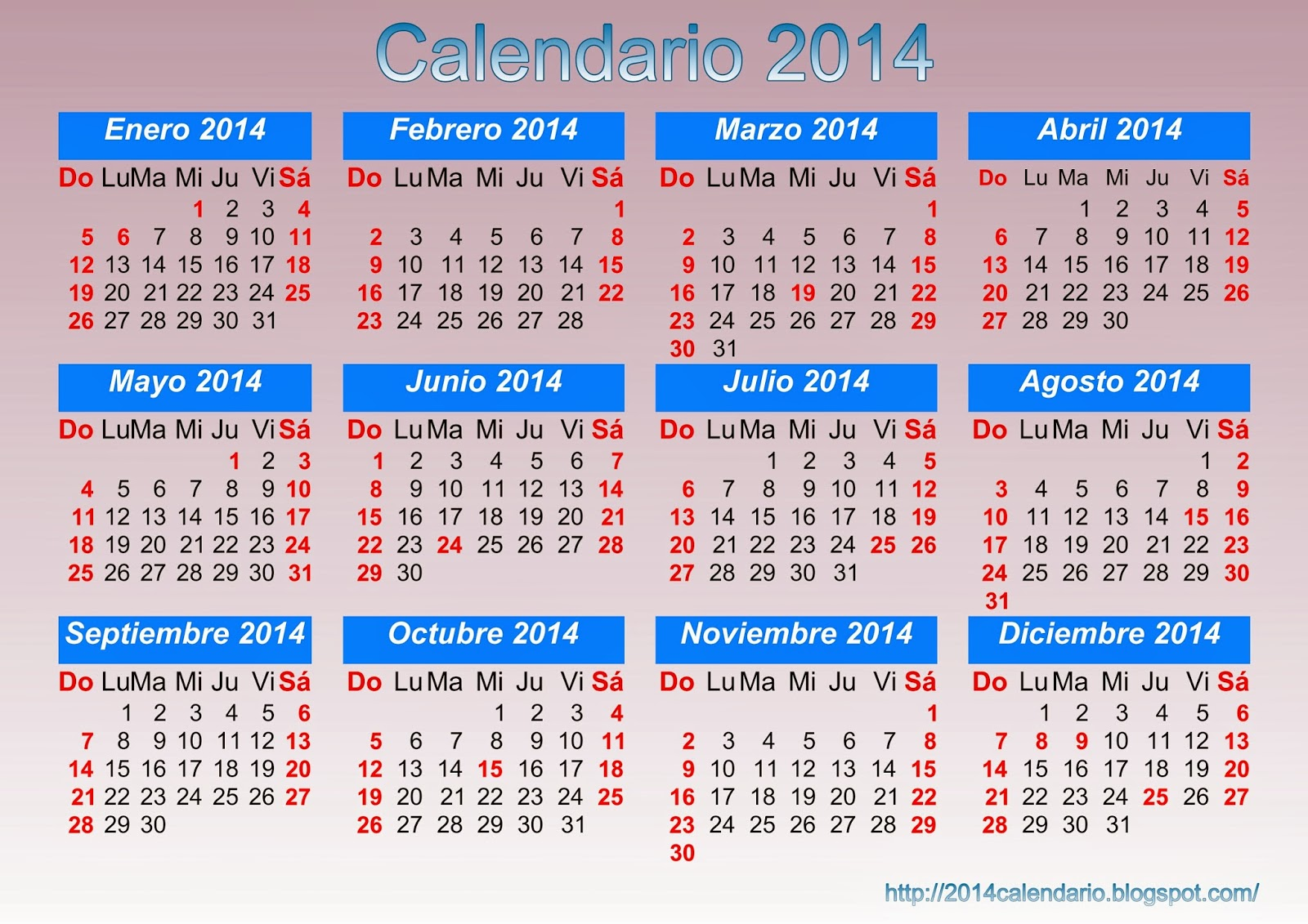 Calendar Q : Calendario para imprimir descargar