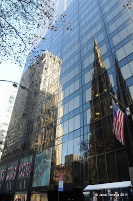 NYC reflection