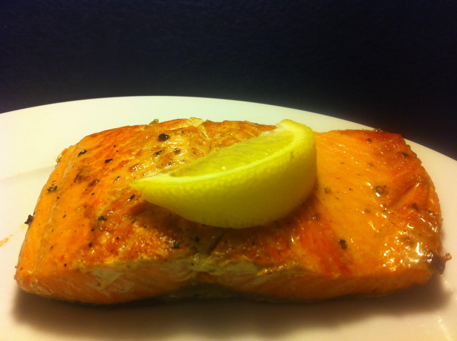 Recipe: Panseared Salmon In Cast Iron