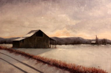 """winter setting"" 20x30"