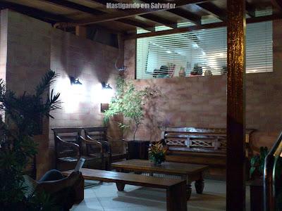 Restaurante Bella Napoli: Ambiente externo