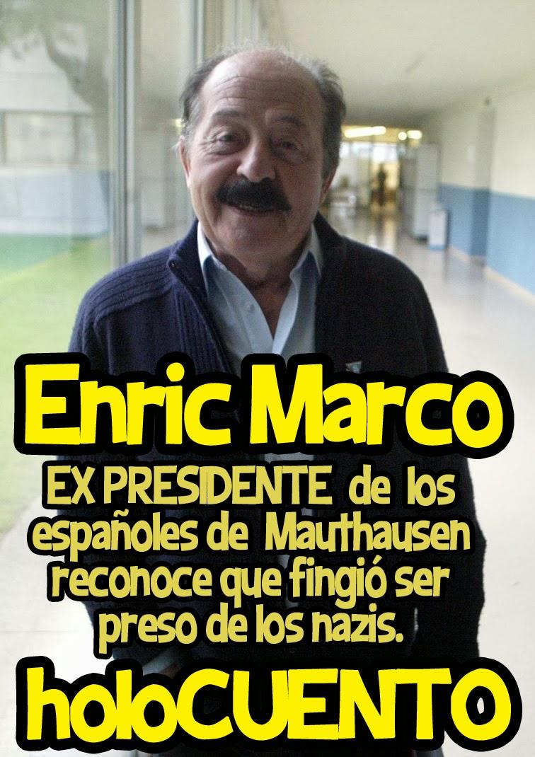 Enric Marco ex presidente de los españoles de Mauthausen
