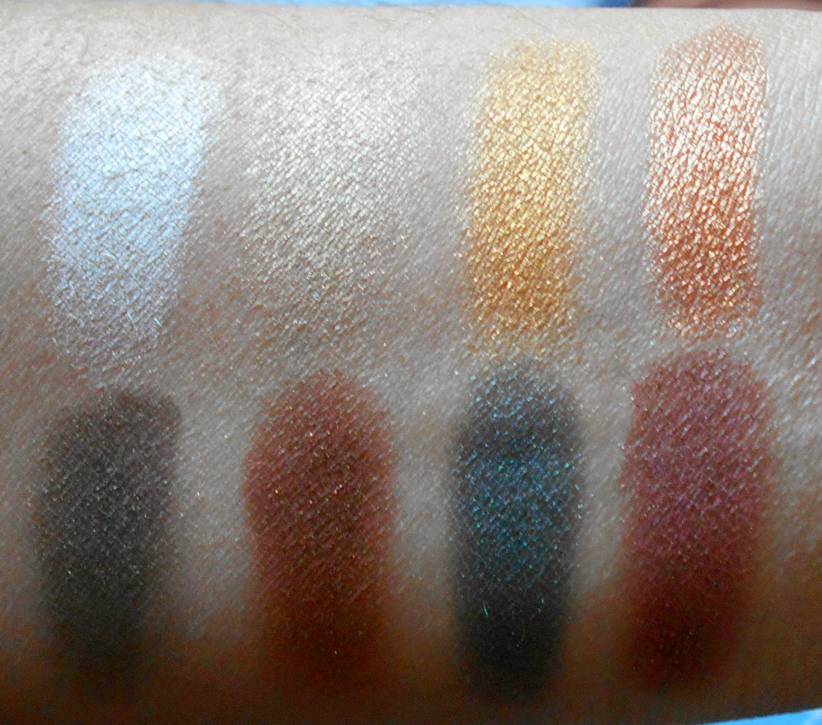 The Suede Shadow Palette By NYX