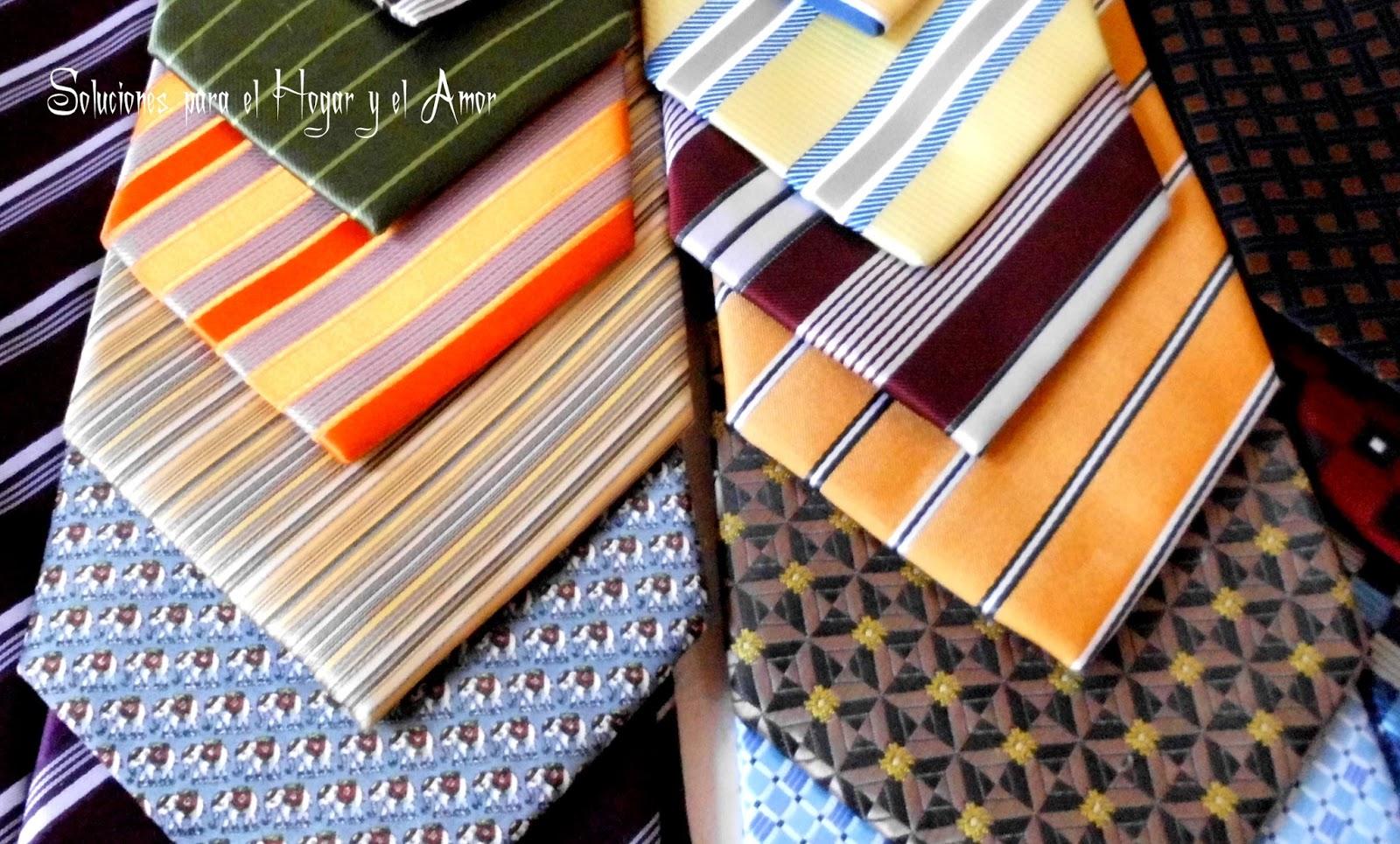 Corbatas de todos los colores y gustos