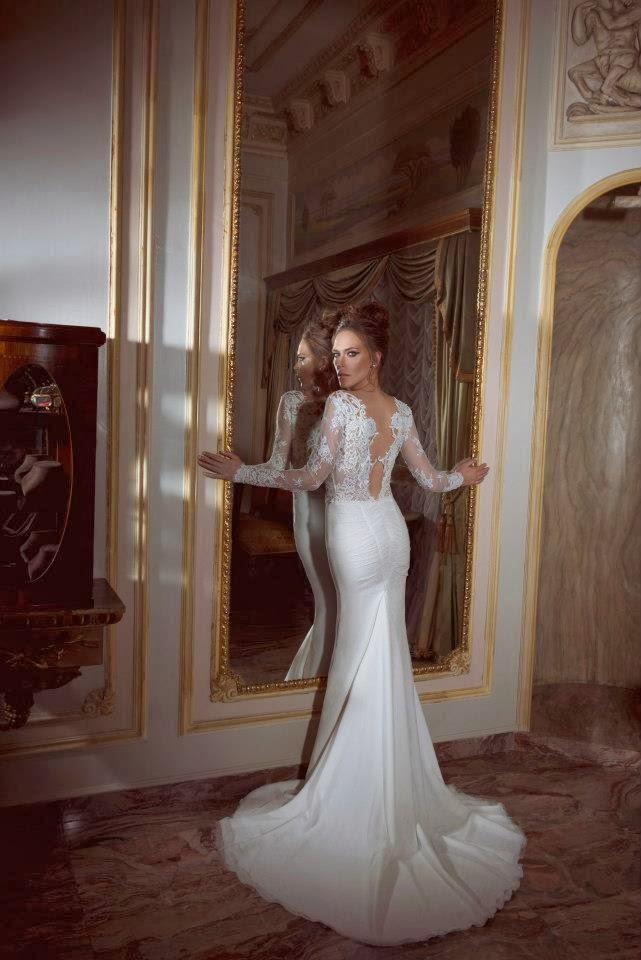 Románticos vestidos de novias