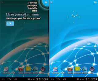SKK Mobile Phoenix Tab 4 Homescreen